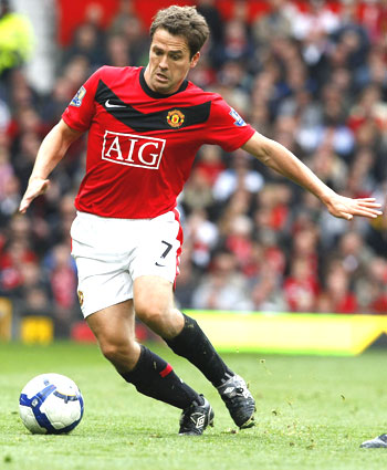 Manchester United's Michael Owen