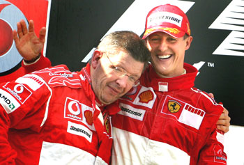 Michael and Ross Brawn