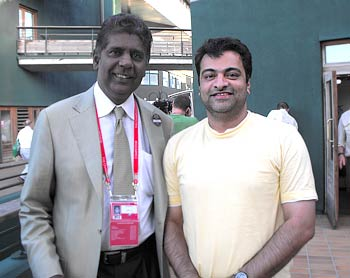 Vijay Amritraj in London