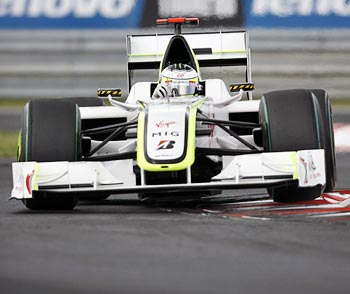 Brawn GP driver Jenson Button