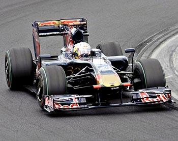 Toro Rosso driver Jaime Alguersuari