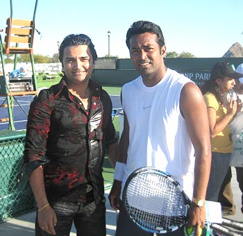 Leander Paes in California