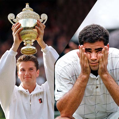 Richard Krajicek and Pete Sampras.