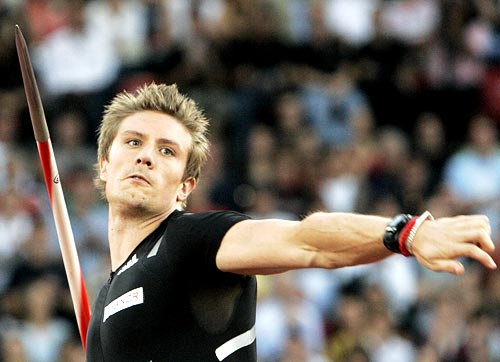Norway's Andreas Thorkildsen