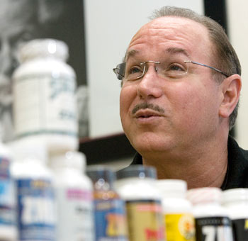 Victor Conte, owner of the now-defunct BALCO lab