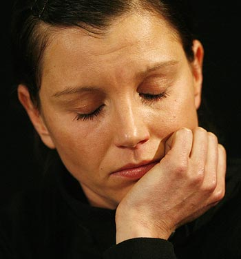 Teresa Enke, widow of Germany goalkeeper Robert Enke