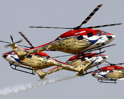 Indian Air Force (IAF) helicopters