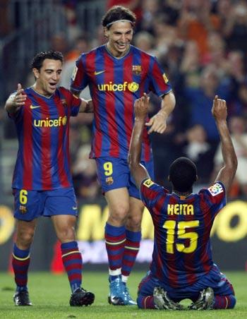 Xavi, Zlatan and Keita