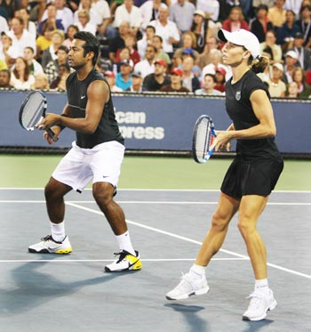 Leander Paes and Cara Black