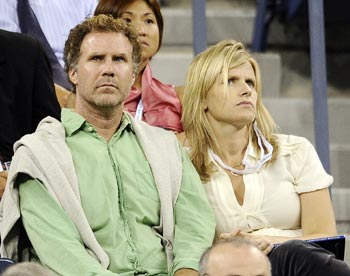Will Ferrell with wife Viveca Paulin