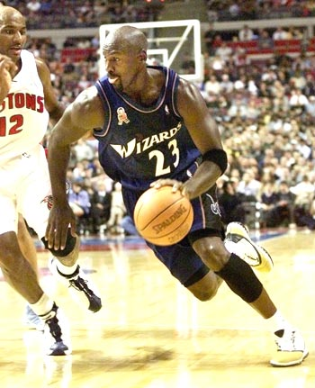 Michael Jordan played for Washington Wizards on his return to the NBA championships at the age of 38 in 2001