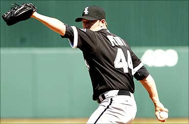 Chicago White Sox pitcher Jake Peavy