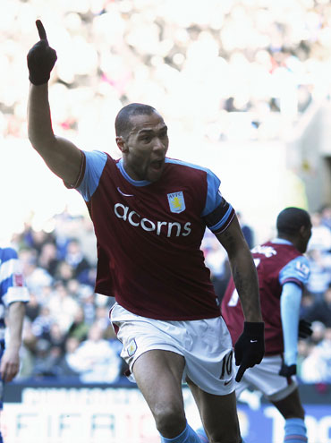 John Carew scores the equaliser