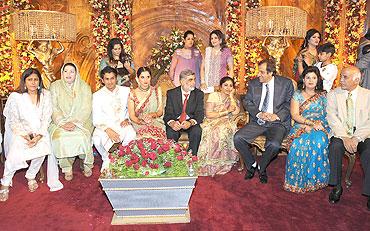 sania's wedding reception in sialkot