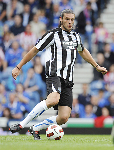Newcastle's Andrew Carroll