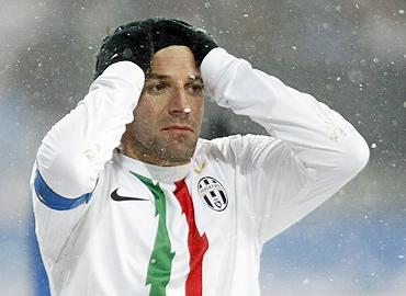 Juventus' Alessandro Del Piero