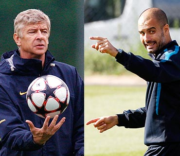 Wenger and Guardiola