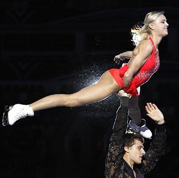 Katarina Gerboldt and Alexander Eenbert of Russia