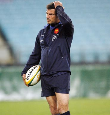 France coach Marc Lievremont