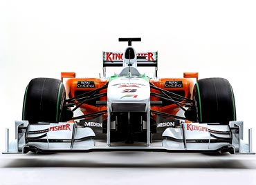 Force India's new car VJM03