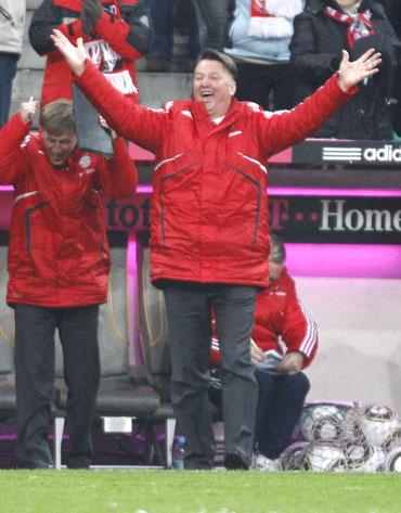 Bayern coach Louis van Gaal