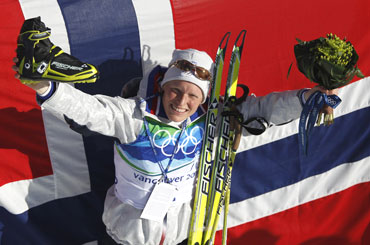 Tora Berger wins 100th gold for Norway