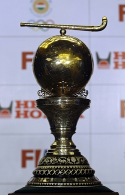 Men's hockey World Cup trophy