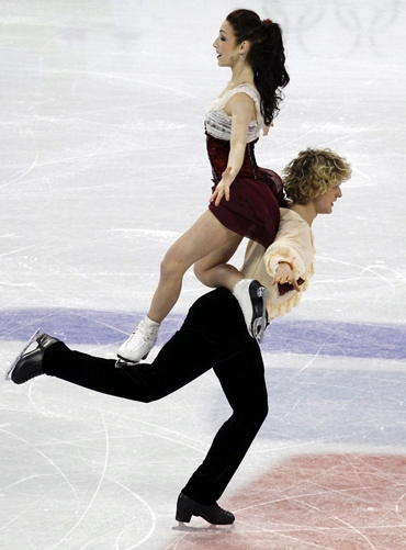 Americans Meryl Davis and Charlie White