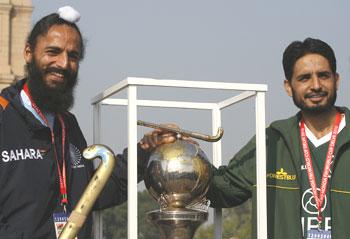 Rajpal Yadav and Zeeshaan Ashraf