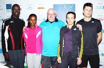 Ladbroke with Mumbai Marathon participants