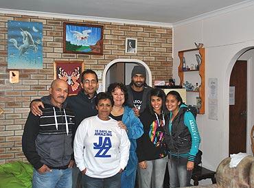 Eugene Nelson, Mervin, Cheryl Nelson, Janet, Me, Ashleigh, Ashleigh's friend