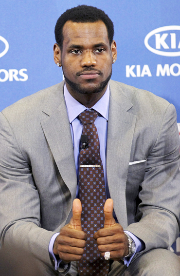lebron james miami heat. LeBron James The NBA#39;s Most Valuable Player for the past two seasons,