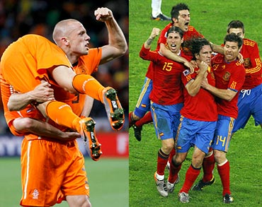 Netherlands v Spain: How they square up