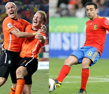 Xavi and Robben and Kuyt