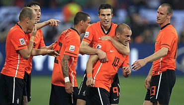 The Netherlands side