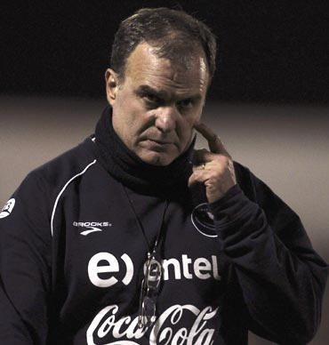 Chile coach Marcelo Bielsa