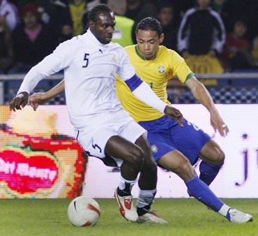 Ghana's John Mensah
