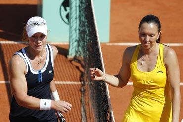 Samantha Stosur and Jelena Jankovic