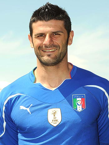 Italy forward Vincenzo Iaquinta