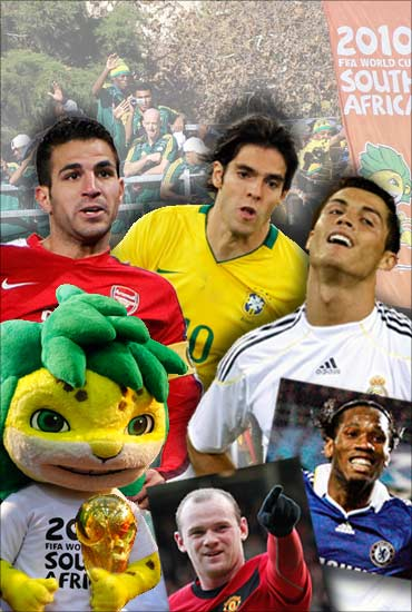 Some of the star players of the World Cup 2010