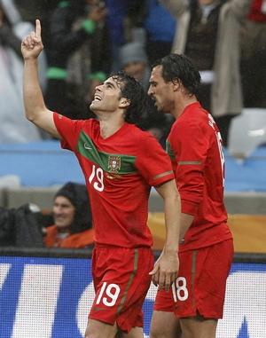 Portugal midfielder Tiago