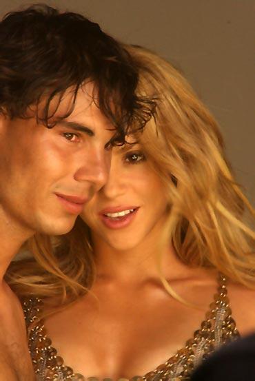 Nadal and Shakira