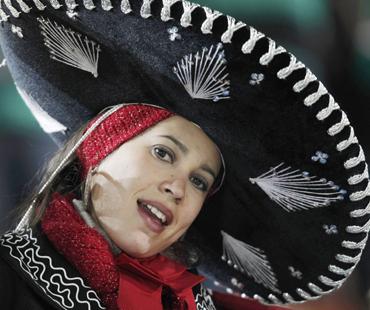 A Mexican fan