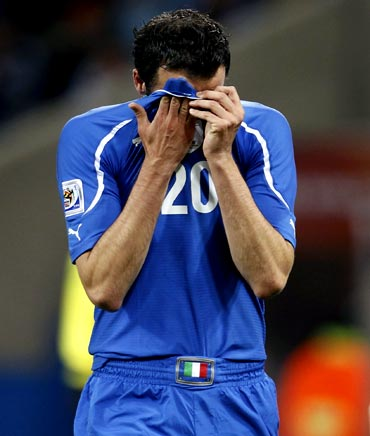 Italy's Giampaolo Pazzini