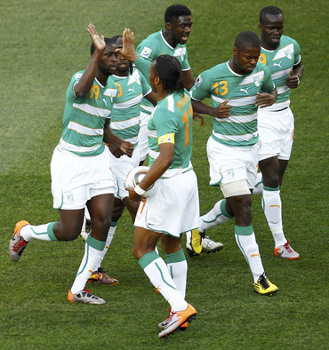 Players from Ivory Coast