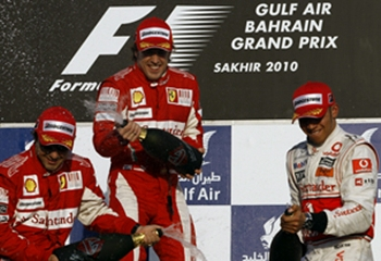 The Bahrain Grand Prix winners