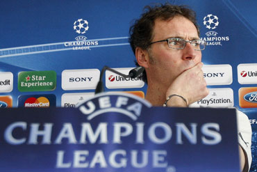 Bordeaux coach Laurent Blanc