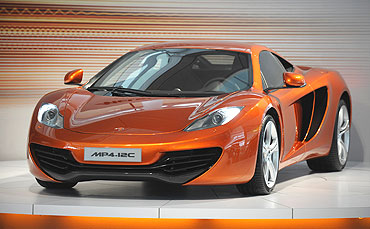 The McLaren Automotive MP4-12C