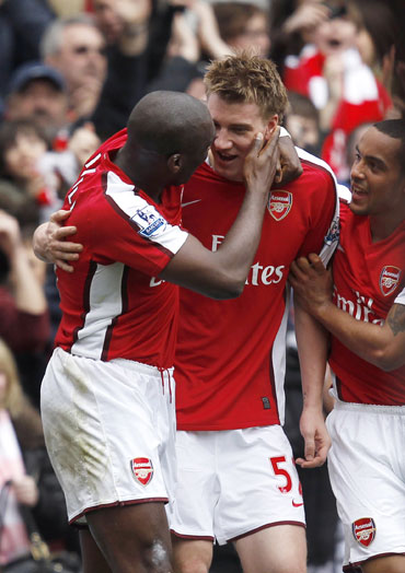 Arsenal too was in title contention