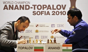 Topalov and Anand